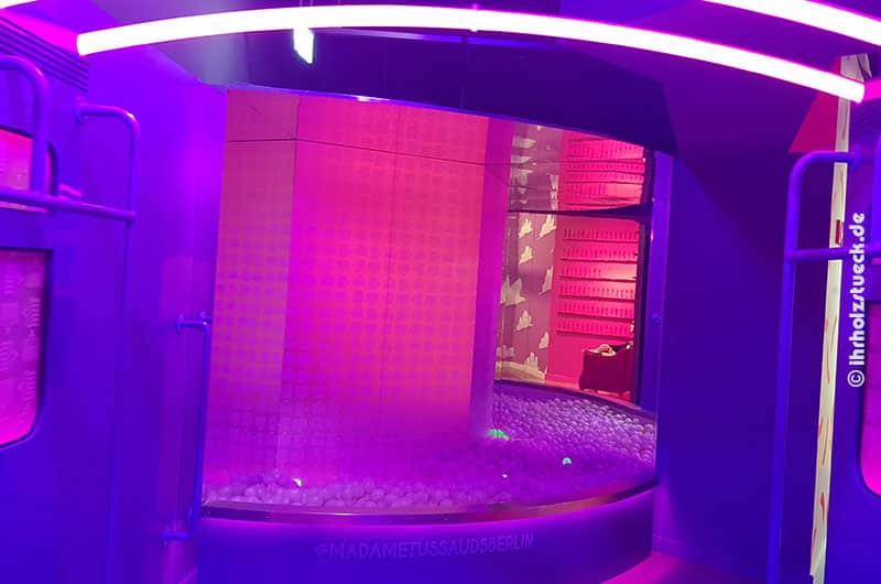 Bällebad bei Madame Tussauds Berlin