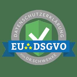 Siegel DSGVO Dr. Schwenke - ihrholzstueck.de