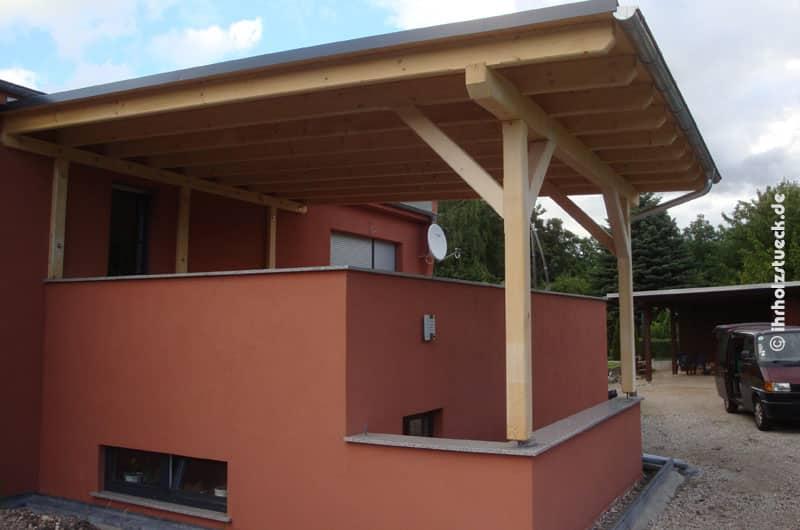 Terrassendach als Gesamtansicht