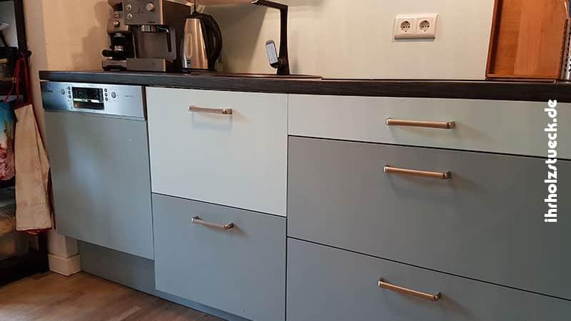 Design nach Wunsch können wir beim Küchenbau für Sie umsetzen