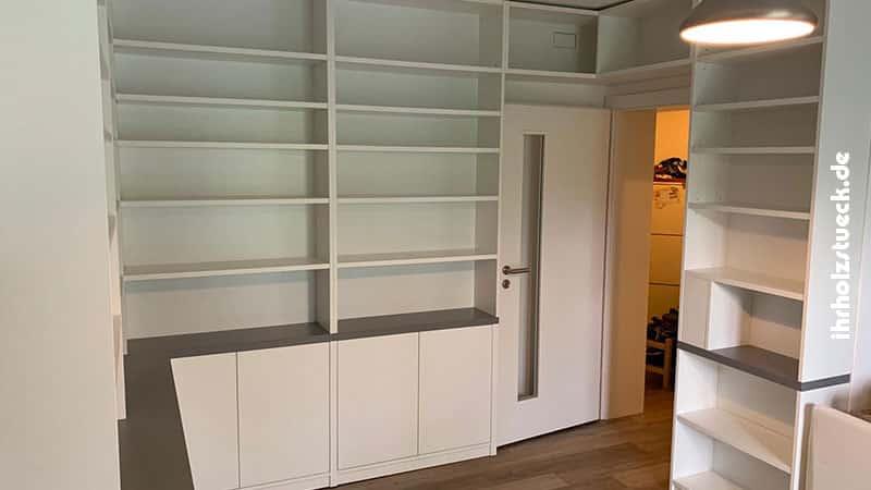 Komplettsystem für Aufbewahrung im Wohnbereich
