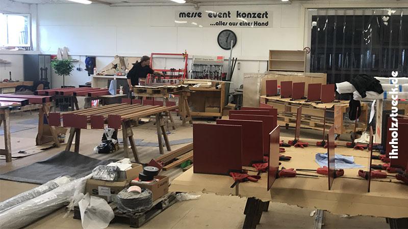 Wir fertigen alle Produkte und Konstruktionen in unserer eigenen Werkstatt