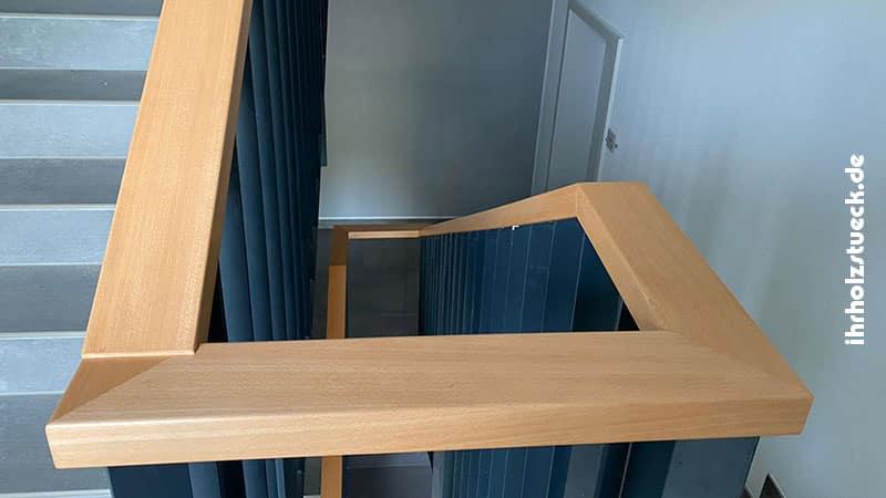 Handlauf für Geländer aus Echtholz
