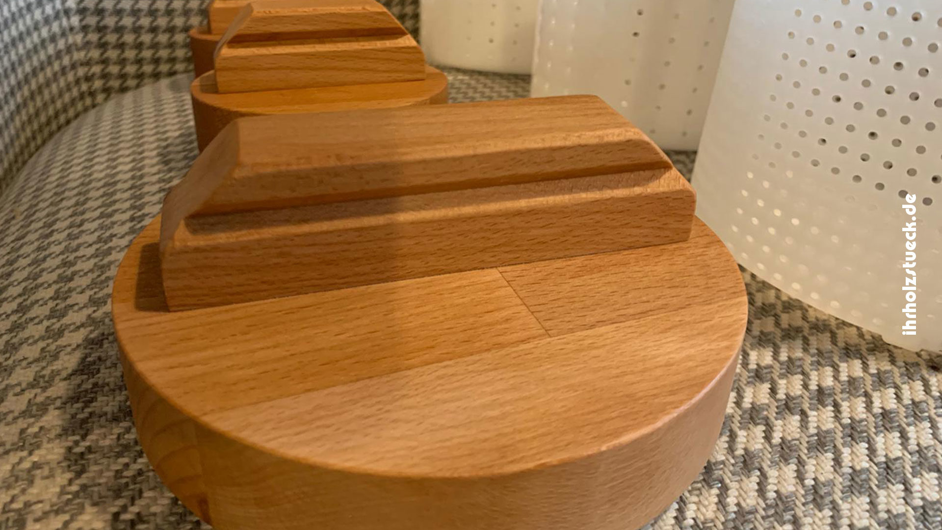 Stempel für Käseformen aus Echtholz