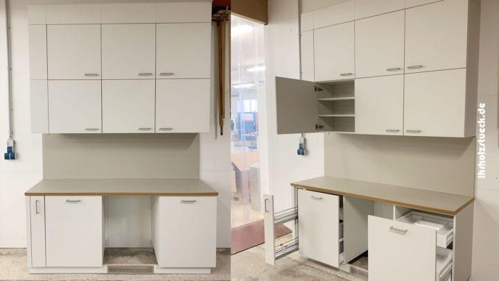 Bau und Montage von 16 Küchen in unterschiedlicher Größe