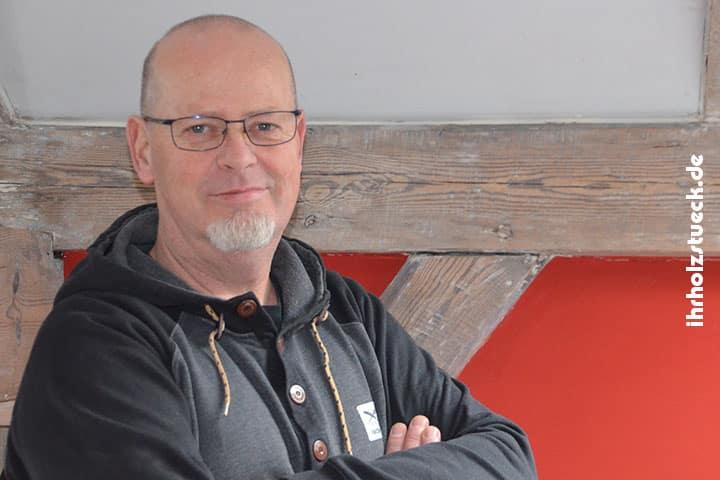 Hardo Pacyna ist ihr Ansprechpartner für Planung, Fertigung und Technik bei ihrholzstueck.de