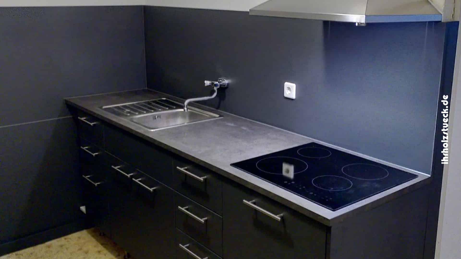 Projektgalerie - Bau einer Küche als Fullservice mit Elektrik und Sanitär - ihrholzstueck