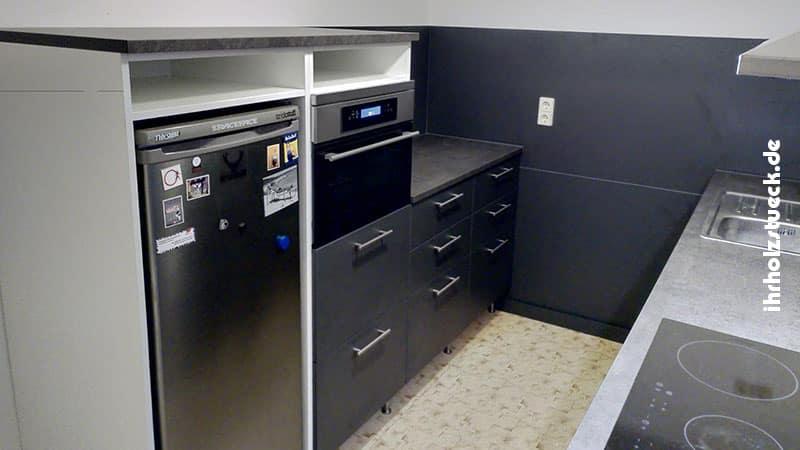 Bau und Montage einer Einbauküche als Komplettprojekt